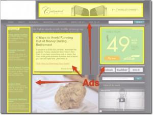 Website Revenue Strategies:  Adsense