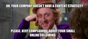 Conttent Strategy via social media marketing